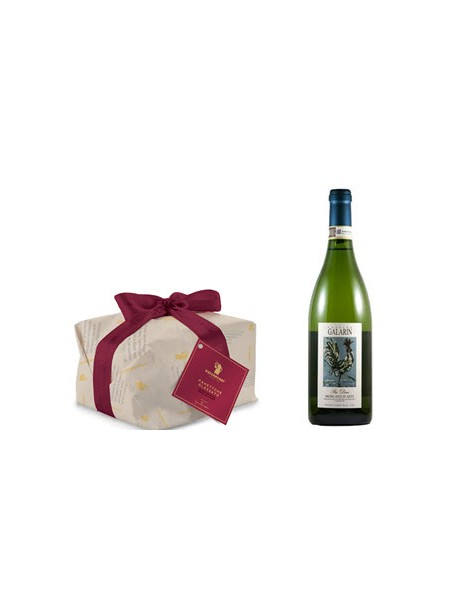 Panettone Glassato und Moscato d'Asti
