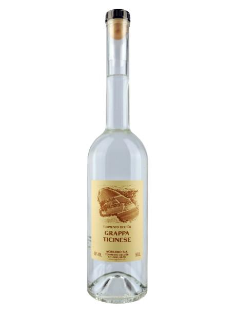Grappa 'Ticinese' da uva americana - 0.5 l - Agriloro