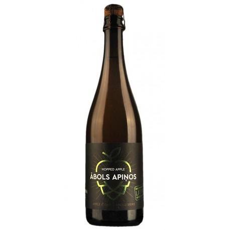 Abavas Hopped Apple Cider - 0.75 l - Abavas Family Winery