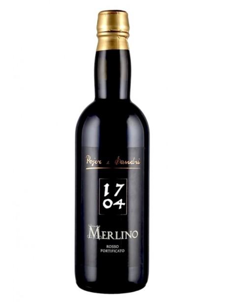 Merlino - 2017, 2004  - 0.5 l  -  Pojer & Sandri